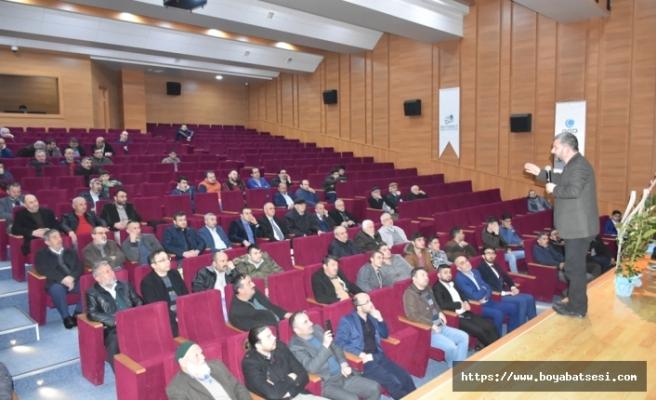 """Boyabat'ta """"Erbakan'ı Anma"""" Programı Düzenlendi"""