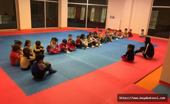 Boyabat'ta Jimnastik Temelli, Beceri ve Koordinasyon Kursları Başladı