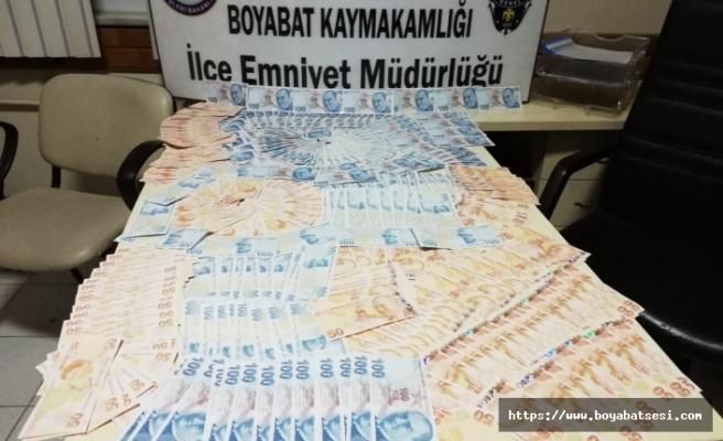 Boyabat Polisinden Başarılı Sahte Para Operasyonu