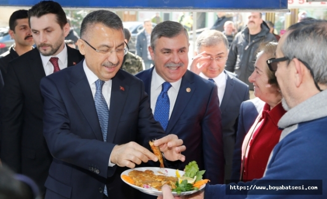 Cumhurbaşkanı Yardımcısı Oktay Sinop'ta