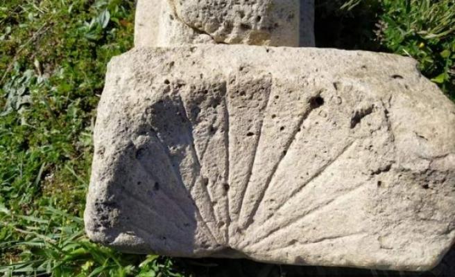 Sinop'ta 2 bin yıllık Güneş Saati bulundu