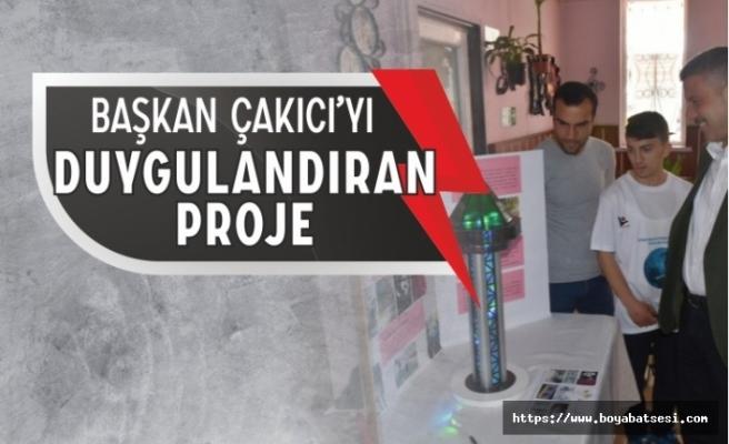 Başkan Çakıcı'yı Duygulandıran Proje