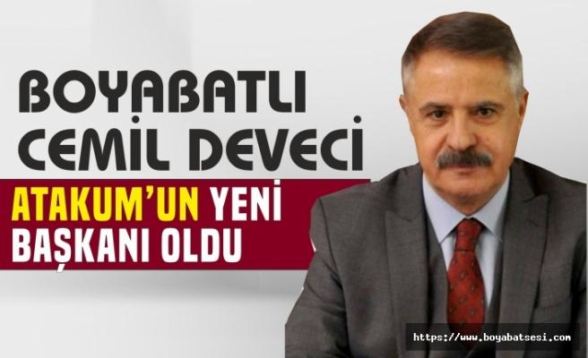 Boyabatlı Cemil Deveci Samsun Atakum Belediye Başkanı Oldu