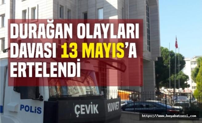 Durağan Olayları Davası 13 Mayıs'a Ertelendi
