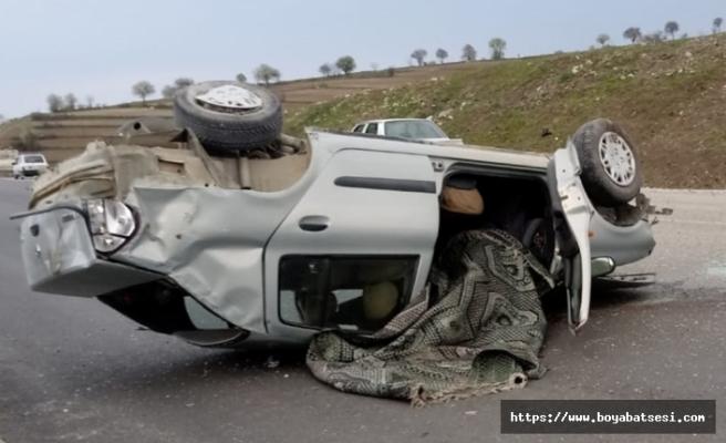 Durağan Yolunda  Feci Kaza :1 ölü, 3 yaralı