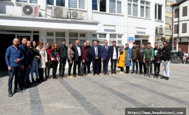 Sinop basını, Türkiye'ye örnek bir tutum sergiledi