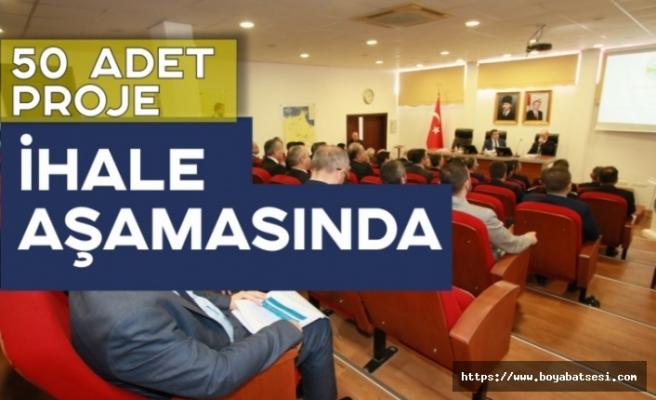 Sinop'ta 483 Proje Üzerinde Çalışılıyor