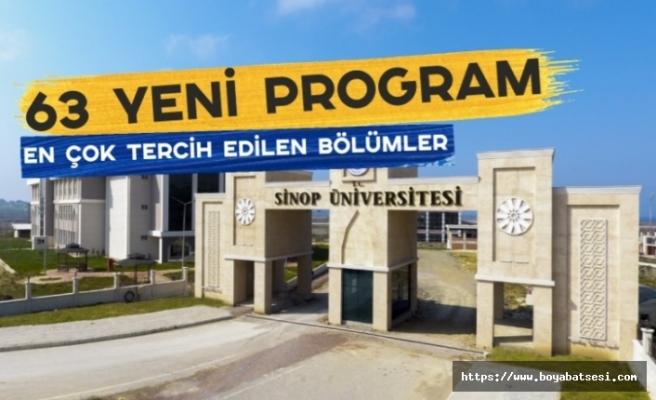 Sinop Üniversitesi Büyümeye Devam Ediyor