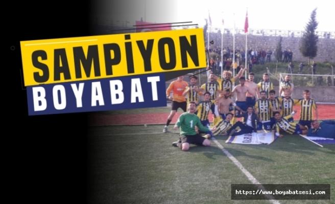 Son Dakika Boyabat 1868 Spor BAL Liginde