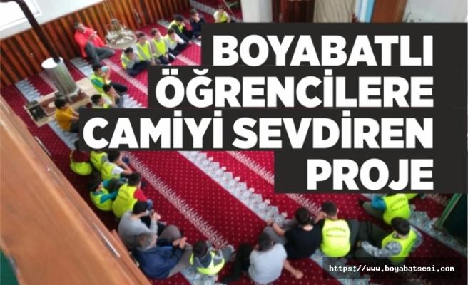 Boyabatlı Öğrencilere Camiyi Sevdiren Proje