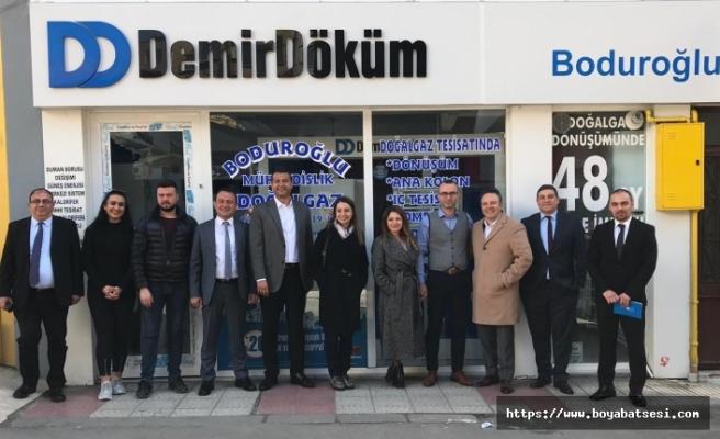DemirDöküm, Sinop'taki yetkili satıcılarını ziyaret etti
