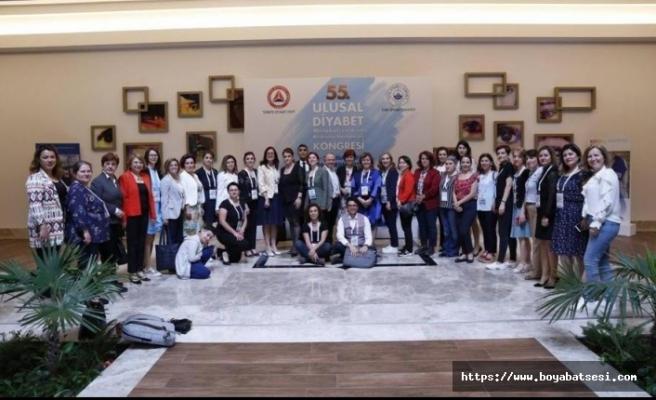Ebru Karakiraz 55. Ulusal Diyabet Kongresinde Sunum Gerçekleştirdi.