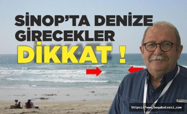 Prof.Dr.Şükrü Ersoy Sinop'ta Denize Girecekleri Uyardı !