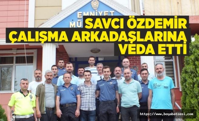 Savcı Mehmet Özdemir'den Emniyete Veda Ziyareti