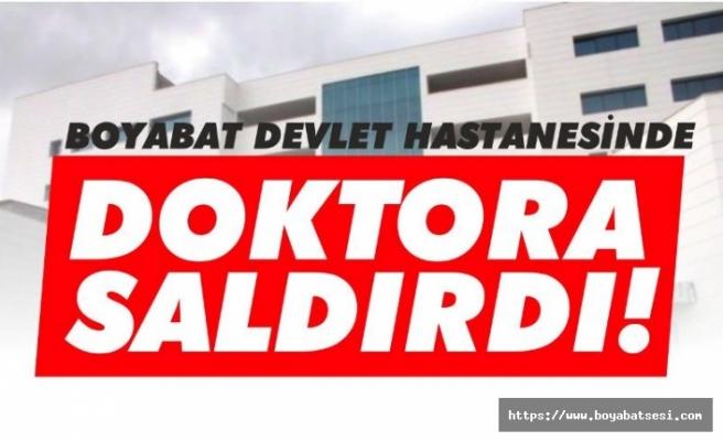 Boyabat' Devlet Hastanesi'nde doktora saldırı