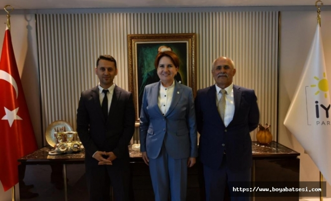 Boyabat İYİ Parti'den Meral Akşener'e Ziyaret