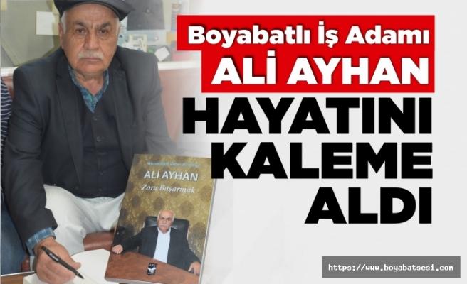 Boyabatlı İş Adamı Ali Ayhan'ın kitabı yayımlandı