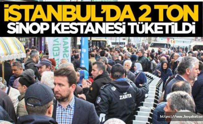İstanbul'da  Kestane Festivali