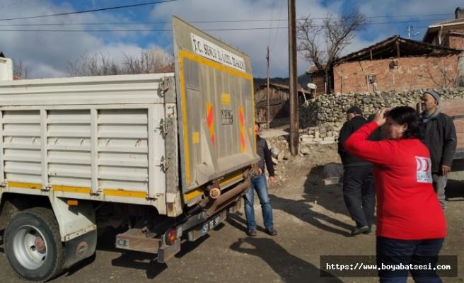 Türk Kızılayı Boyabat Maruf Alınca Köyü'nde