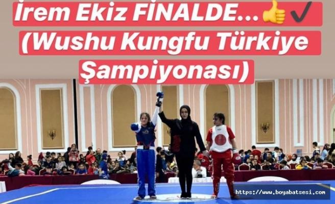 Boyabatlı İrem Ekiz Wushu Kungfu Türkiye Şampiyonasında 2. Oldu
