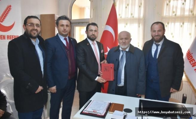 Yeniden Refah Partisi Boyabat İlçe Başkanlığı törenle açıldı.