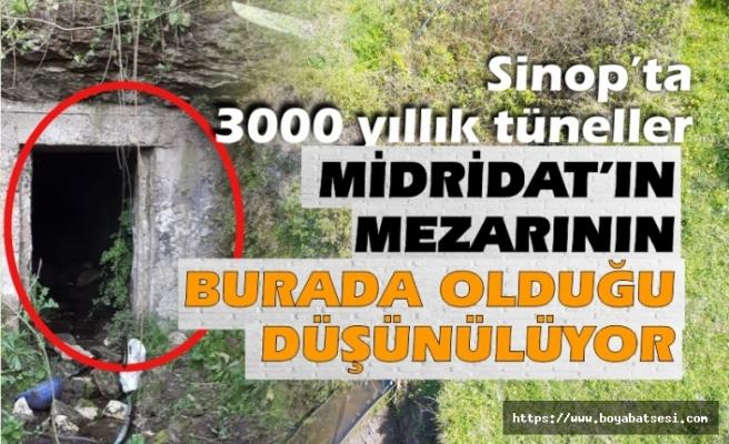 Sinop'taki tünellerin turizme kazandırılması isteniyor
