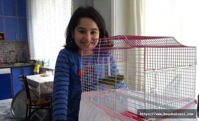 Tuanna'nın kuş isteğini Vefa Sosyal Destek Grubu yerine getirdi