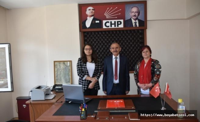 Boyabat CHP Yöneticileri 19 Mayıs'ıkutladılar.