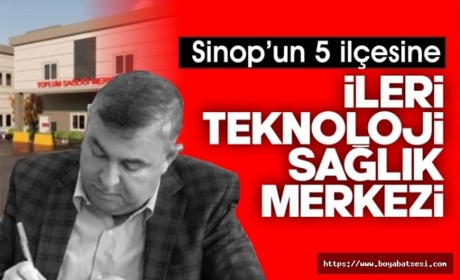 Sinop'un 5 ilçesine sağlık yatırımları