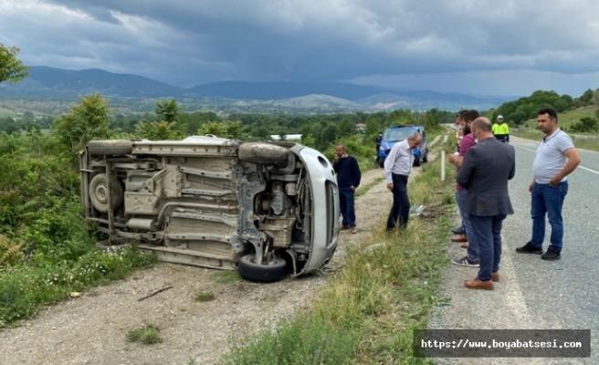 Boyabat Kastamonu yolundatrafik kazası: 1 ölü