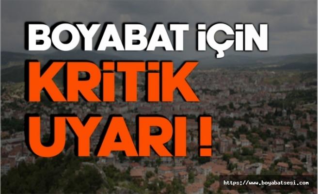 Sinop'un iç kesimlerine sağanak ve dolu uyarısı !