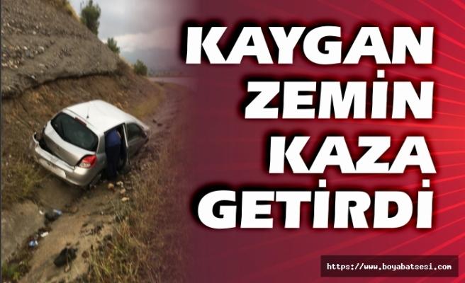 Boyabat Durağan yolunda trafik kazası !