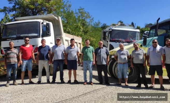 2 ayda 170 kilometrelik yol asfaltla buluştu