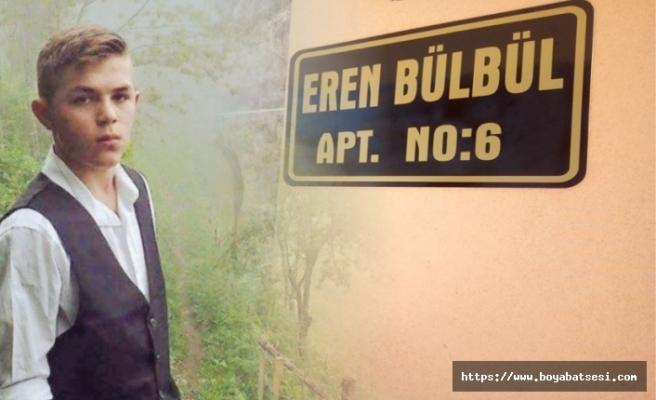 Eren Bülbül'ün adı o apartmanda yaşayacak