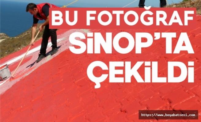 """Türk bayrağına """"can"""" geldi"""