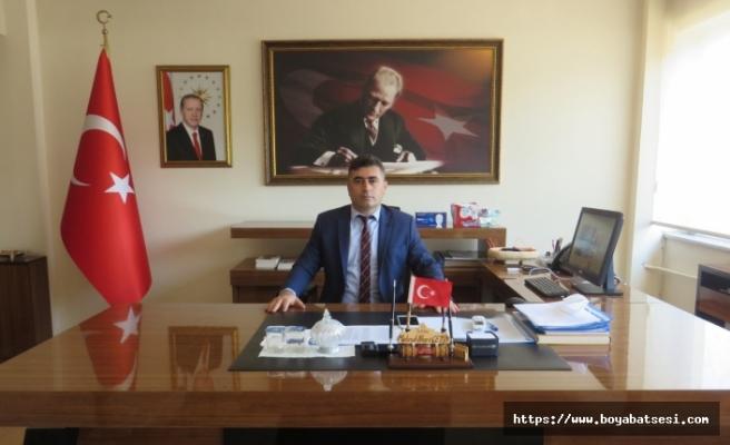 Kaymakam Sayın Mehmet Nuri ÇETİN'in 19 Eylül Gaziler Günü Mesajı