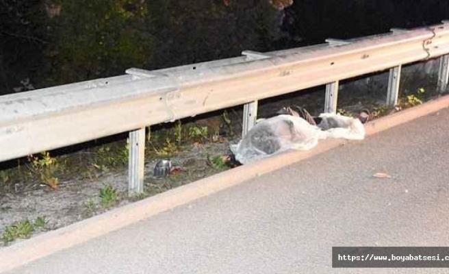Boyabat Sinop yolunda trafik kazası 1 kişi hayatını kaybetti