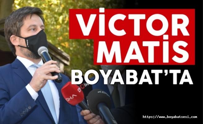 Macaristan Büyükelçisi Boyabat'ta