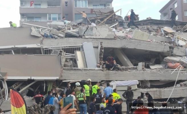 Boyabat Aras Kargo deprem bölgesine yardım kapısı oldu