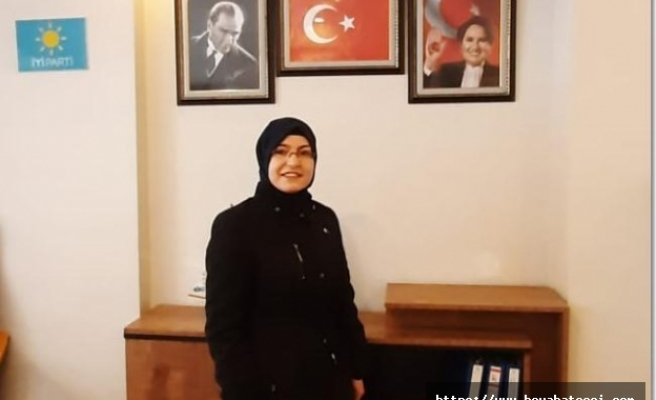 Boyabat İYİ Parti Kadın Politikaları Başkanlığına Sevcan Kurt atandı