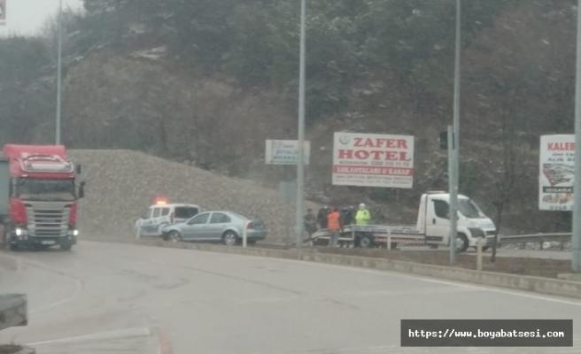 Boyabat Osmanköy mevkinde kaza !