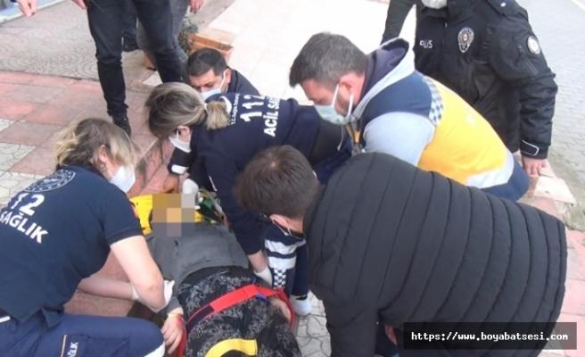 Balkondan düşen 2 çocuk annesi hayatını kaybetti