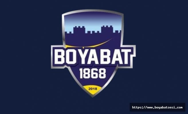Boyabat 1868 Yönetiminden açıklama '' Tek Hedef 3.Lig''