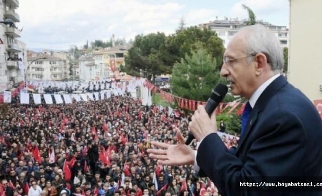 Kılıçdaroğlu Boyabat'a Geliyor