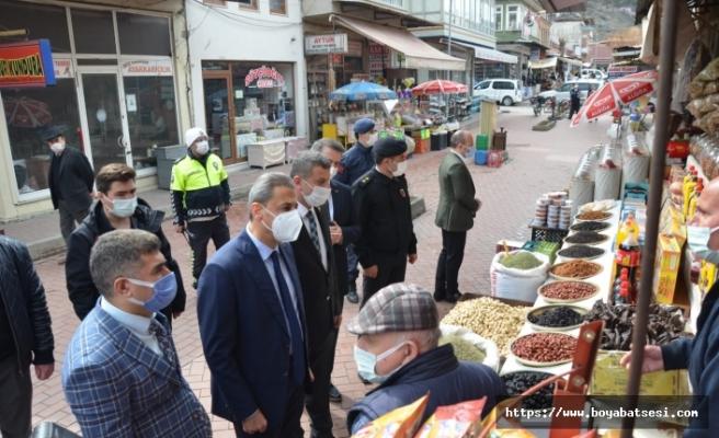 Vali Karaömeroğlu'ndan, Boyabat ziyareti