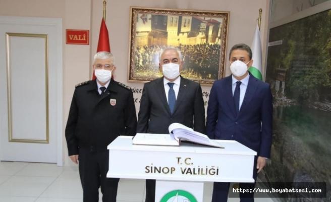 Bakan Yardımcısı Mehmet Ersoy Sinop'ta