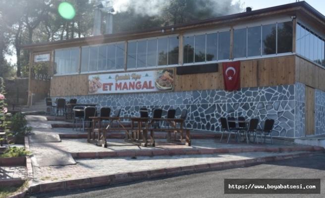 Boyabat Çamlık Seyir Tepe  Et Mangal müşterilerini bekliyor