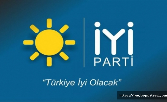 İYİ Parti İlçe Teşkilatı Belediye İhaleleri ile İlgili Basın Açıklaması