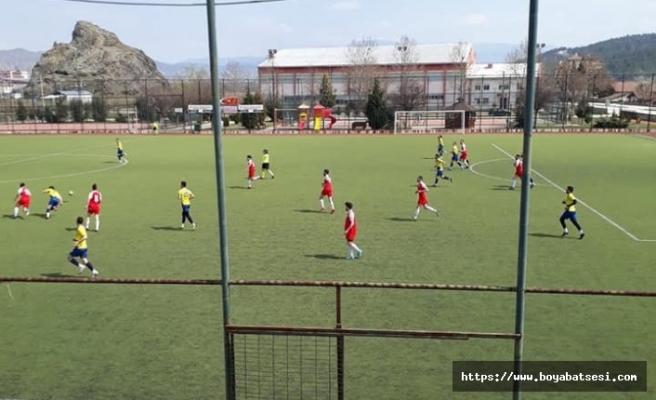 Osmancık Boyabat'ı tek golle geçti