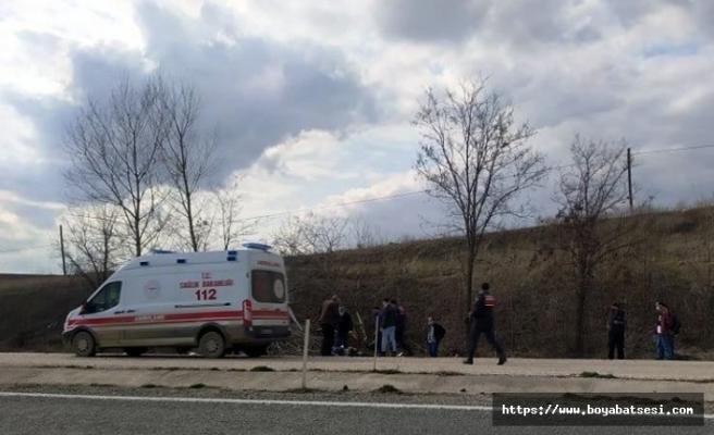 Taşköprü'deki kazada sürücü yaralanırken, annesi hayatını kaybetti